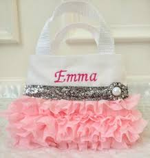 purse gift bags pink chiffon flower girl purse party favor bags birthday gift