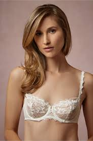 Lingerie For Bride Guipure Lace Demi Bra In Lingerie View All Lingerie At Bhldn