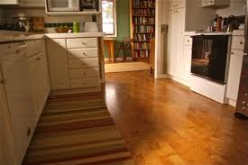 Small Kitchen Floor Ideas Glossy Wooden Kitchen Flooring Options With Cool White Kitchen