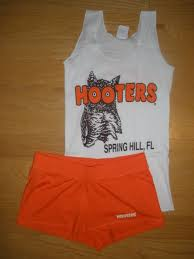 Tank Halloween Costume Hooters Uniform Halloween Costume Tank Shorts Small Medium Florida