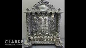 antique menorah silver menorah antique menorah sterling clarke auction