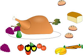 thanksgiving dinner plate clip free pictures clip