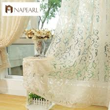 rideaux pour cuisine style européen jacquard rideau pour la maison fenêtre traitements