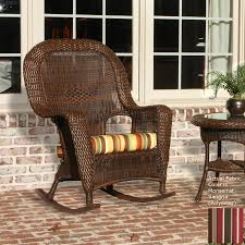 shop tortuga outdoor lexington tortoise wicker patio rocking chair