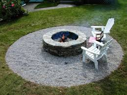 Firepit In Backyard Backyard Pits Landscaping Ideas Fireplaces Firepits