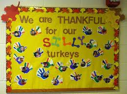 image result for thanksgiving bulletin boards for preschool
