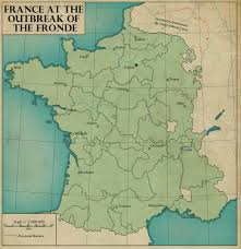 Brest France Map by France At The Outbreak Of The Fronde By Edthomasten On Deviantart