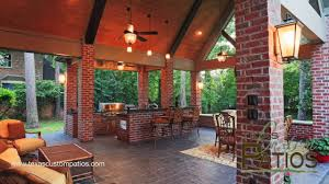 Patio Covers Houston Tx by Patio Covers Outdoor Kitchens Fireplaces Texas Custom Patios