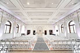 black aisle runner wedding trends stripes