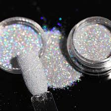 holographic glitter 1box 1g holographic glitter powder shining sugar nail glitter hot