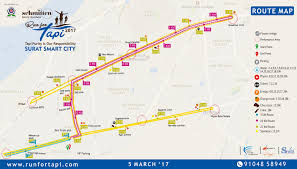 Map Route Run For Tapi