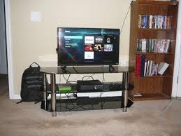 Tv Tables At Walmart Avf Black Glass Floor Stand With Chrome Legs For Tvs Up To 55