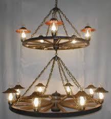 wagon wheel light fixture wagon wheel chandeliers wild west living