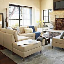 wonderful decorating ideas using l shaped grey fabric couches and