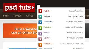 website menu design 32 impressive drop navigation menu designs designbump