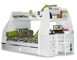 Desk Bunk Bed Combo Bedroom Captivating Bunk Bed Desk Combo Wantster Image Of In