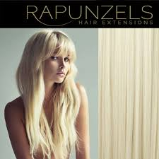 Blonde Weft Hair Extensions by Platinum Blonde Lightest Blonde Rapunzels Human Hair Extensions