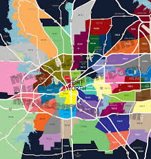 Map Of Phoenix Zip Codes fort worth zip code map zip code map