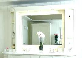 Bathroom Mirror With Built In Light Bathroom Mirror With Lights Built In Attractive 4 Bathroom