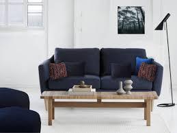 coussins canapé quels coussins pour un canapé bleu