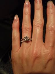 solitaire engagement ring with wedding band wedding rings solitaire enhancer wedding ring sets for ring