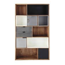 meuble cuisine 110 cm bibliotheque meuble maison du monde lenox indus en manguier massif l