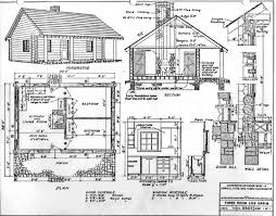 28 blueprints for cabins free small cabin plans that will