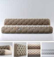 fabric chesterfield sofa 3d model 3dmax files free download