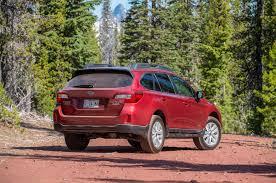 red subaru outback 2015 subaru outback priced at 25 745 automobile magazine