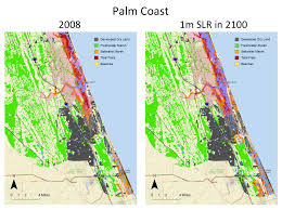 Topographical Map Of Florida by Maps Planning For Sea Level Rise In The Matanzas Basin