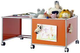 Desks For Kids by Usm Haller Mobile Desk For Kids Case Left Steel Blue Ral 5011 By