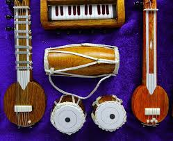 Indian Home Decorations Musical Instruments Indian Home Decor Wooden Table Set Decorative