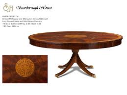 scarborough house sh03 022807m round dining table click here for printable image