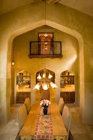 Tuscan Dining Room Austin Tuscan Dining Room Mediterranean With Turret Brown Wall