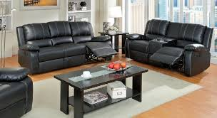 Black Leather Reclining Sofa And Loveseat Leather Reclining Sofa And Loveseat Sets Sofafurniture Info