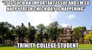 Trinity Meme - trinity college