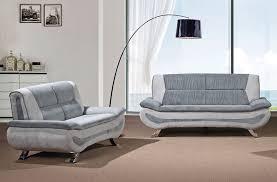 Modern Fabric Sofa Sets Grey Fabric Modern Sofa Set