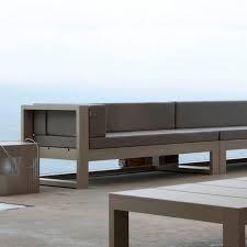 modern outdoor sofa outdoorlivingdecor