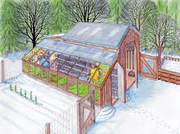 Greenhouses For Backyard Designing For Large Scale Home Food Production Coops