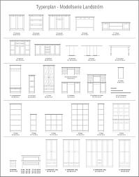 Esszimmer Buffetschrank Buffetschrank Landström 50 Weiß 120x200x40 Cm Buffet Schrank