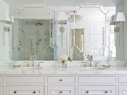 fancy design master bathroom mirror ideas and shower full length
