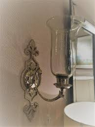 Silver Candle Wall Sconces Living Wall Mounted Hanging