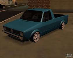 volkswagen caddy pickup volkswagen caddy custom 1980 for gta san andreas