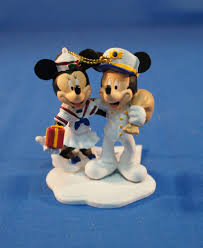 disney cruise line captain mickey sailor minnie mouse resin