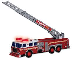 tonka fire truck amazon com daron fdny ladder truck with lights and sound toys