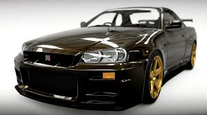 nissan skyline 2014 custom forza horizon 2 custom car build r34 skyline youtube