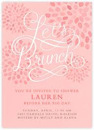 brunch invites bridal shower invitations paperless post invitation