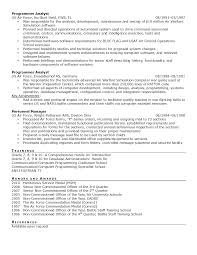 Examples Of Military Resumes by Military Level Resume Samples