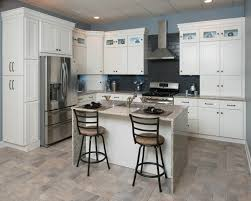 Shaker Style Interior Design by Making White Shaker Kitchen Cabinets