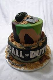 176 best cakes call of duty images on pinterest birthday cakes